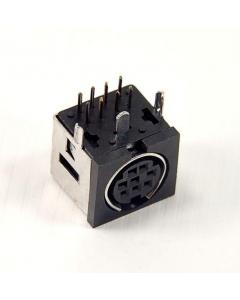 Unidentified MFG - SRAS PCB-8 - Connector, DIN. F 8 Pin, RA.