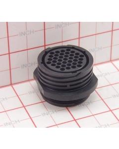 AMP INC - 206306-2 - 37 pin plastic shell