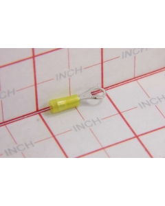 NICHIFU - TMDN 0.3-4U - Connector, solderless terminal. Ring #8 insulated.