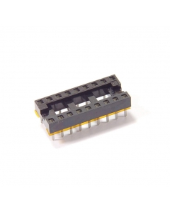 CAMBION - 703-1318-01-04-10 - Connector, IC socket. 18 Dip. Package of 20.