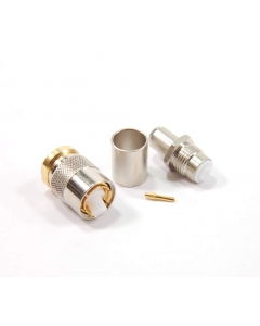 SEALECTRO - 06-03-B3-02 - Connectors, SMA coax. 75 Ohm plug.