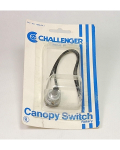 Challenger - 1889-DP-1 - Rotary Canopy Switch,  SPST, 1 A 250V, 3A 125V