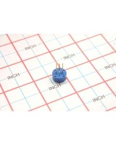 BOURNS - 3345P-1-501T - Potentiometer, trimming. 500 Ohm 1 watt.