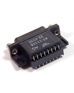 Unidentified MFG - 22-4338 - Connector, D-Sub. DB15 female.