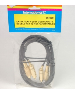 INTERNATIONAL COMPONENTS CORP - 95-620 - DUAL RCA TO RCA MALE