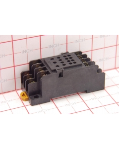 Omron - PYF-14A - Connector, relay socket. For 4PDT relays.