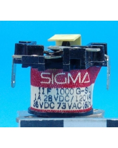 SIGMA - 11F1000GSIL - RELAY SPDT 7mAmps-Operate