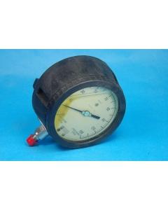 WEKSLER INSTRUMENTS - 22-Z - Vacuum gauge. IHG pressure 30 to 150 PSIG.
