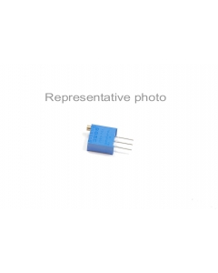 BOURNS - 3296W-1-101 - Resistor, trimpot. : 100 Ohms. Power: 1/2 watt.