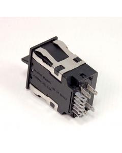 MICRO SWITCH - PK 8518 0 - Switch, rocker. Illuminated, DPDT 3A 125VAC.