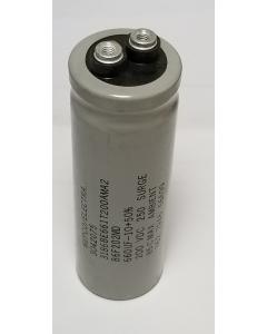 Esco Mepco Electra - 3186BE661T200AMA2 - Capacitor, Electrolytic. 660uF 200V.