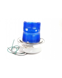 EDWARDS SIGNALING PRODUCTS - 50B-N5-40WH BLUE - Commercial fixture. Blue light special.