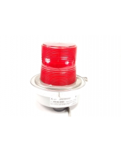 EDWARDS SIGNALING PRODUCTS - 50B-N5-40WH RED - Commercial fixture. Red light special, flashing.