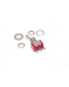 C & K Components - 7101SYCQE - Switch, toggle. SPDT 5A 120V.