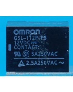 OMRON - G5L-112P-PS12VDC - DIP DC RELAYS, 5A, 12 VDC SPDT