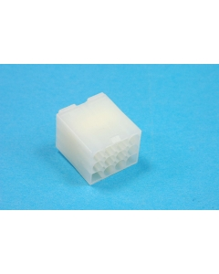Waldom/Molex - 3191-12P1 - Connectors. Socket plug housing, 12-Position (F)
