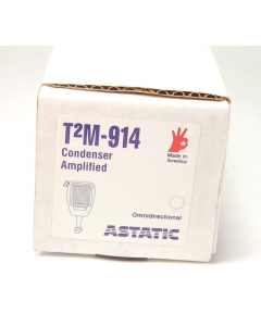 ASTATIC - T2M-914 - Replacement Omnidirectional Audio, Microphone / Speaker, Electret Cartridge