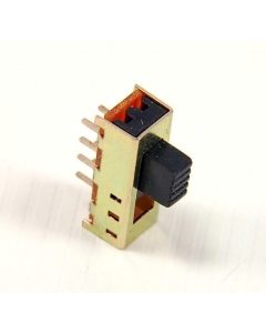 TYCO -TE Connectivity -  ALCOSWITCH - STS230PC - Miniature Switch, Slide. DP3T (3 position). 300 mA @ 125 VAC.