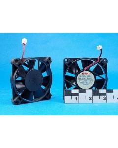 ETRI - 681DH1LP11000 - Fan, DC. 12VDC 0.2Amp 2.4 watt.