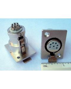 OMNITRONICS - 89M-107-7N  - 7-Pin (F) XLR Panel Mount Socket