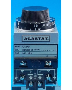 TYCO/AGASTAT - 7012AF - 1-10Min Electropneumatic Timing Relay