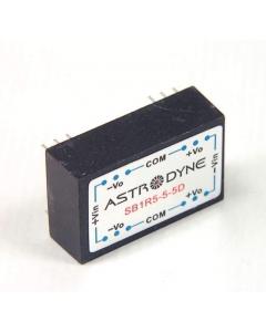 Astrodyne - SB1R5-5-5D - DC/DC Converter. 1.5 Watt. Out: 5VDC 150mA.