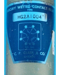 CLARE - HG2A1004 - DPDT Mercury wetted contact Relay