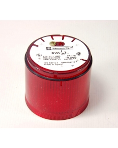 TELEMECANIQUE - XVAC341 - Indicating beacon steady red lens, no lamp.