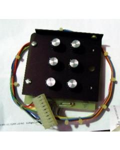 BOURNS - TF200G - Bourns 6-pot & knob assembly