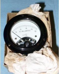 SIMPLEX, INC - 278-012 AC MA - Meter. 0 - 150 AC Milliamperes.
