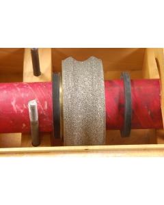 WINTER - 3UZ71P-100-39 - 4-Inch Full-Bullnose Diamond Grinding Wheel