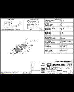 TURCK - BI5-G18-AN6X 50MM - PROXIMITY SENSOR