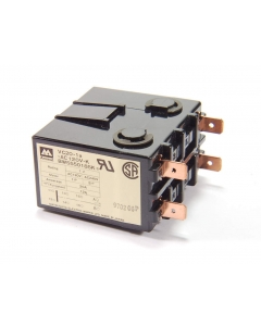 NAIS/Aromat - VC20-1A-AC120V-K  SPST 120 VAC 20A Power Relay with Quick Connect Terminal and Mounting Bracket. 640 Ohm Coil.