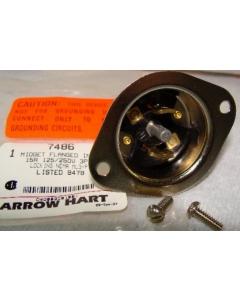 ARROW -HART - 7486 - Connector, power. 3P 15Amp 125/250V.