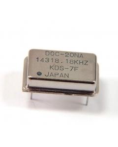 KDS - DOC-20NA 14318.18KHZ - New 14318.18KHZ crystal oscillator