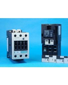 SIEMENS - 3RT1035-1BB40 - Sirius 3-Pole 15-30HP 24VDC Contactors