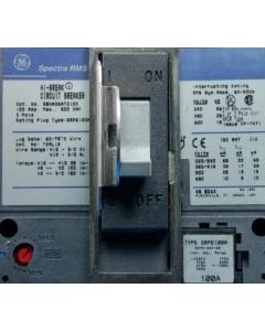 General Electric - SEHA36AT0100 - Circuit breaker. 3P 100A 400VAC.