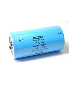 Mallory - CAP2050 - Capacitor, electrolytic. 3500uF 350VDC.