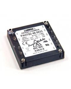 Densei/Lambda - PAH75D48-5033 - Dual Outputs 3.3V and 5VDC 15Amp 75W - 48VDC In