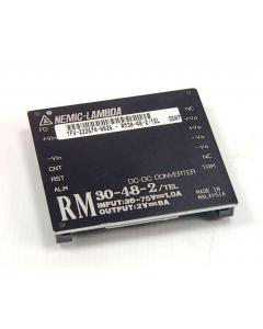 Nemic/Lambda - RM30-48-2/TEL - 2VDC 6A-Out - 36-75VDC-Input