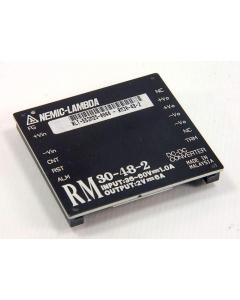 Nemic/Lambda - RM30-48-2 - 2Vo 6 Amps OUT - 36-60VDC Input