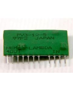 Nemic/Lambda - PV3-12-5 - 12VDC to 5VDC 600mA SIP