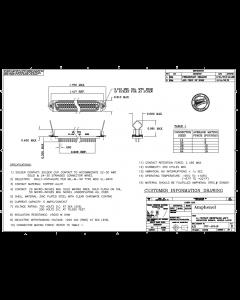 AMPHENOL - 57-40140 - Connector, rectangular. 14 F panel.