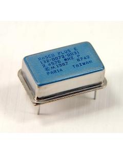 Motorola - 132-0072-0031 - Crystal clock oscillators. 2.4576MHz.
