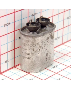 General Electric - 28F1900 - Capacitor, oil-filled. 1uF 440VAC 1000VDC.