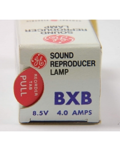 General Electric - BXB - Lamps. Sound reproducer 8.5V 4Amp.