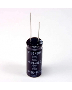 NIPPON CHEMI-CON - 772496 - Capacitor, electrolytic. 50uF 200VDC.