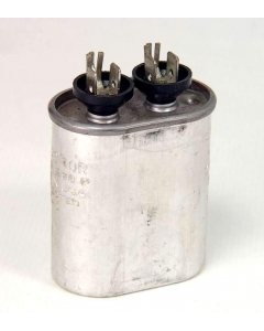 General Electric - 26F7507 - Capacitor, oil-filled. 1uF 700VAC 60Hz, 2,000VDC.