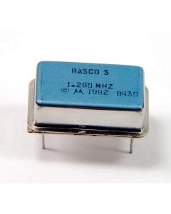 Motorola - RASCO3 1.28MHZ - Crystal oscillators. 1.28MHz.