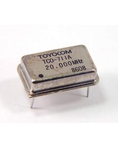 TOYOCOM - TCO-711A 20.00MHZ - 20.00MHZ Crystal Oscillators